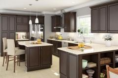 Espresso_Shaker_Kitchen_Cabinets_Los_Angeles