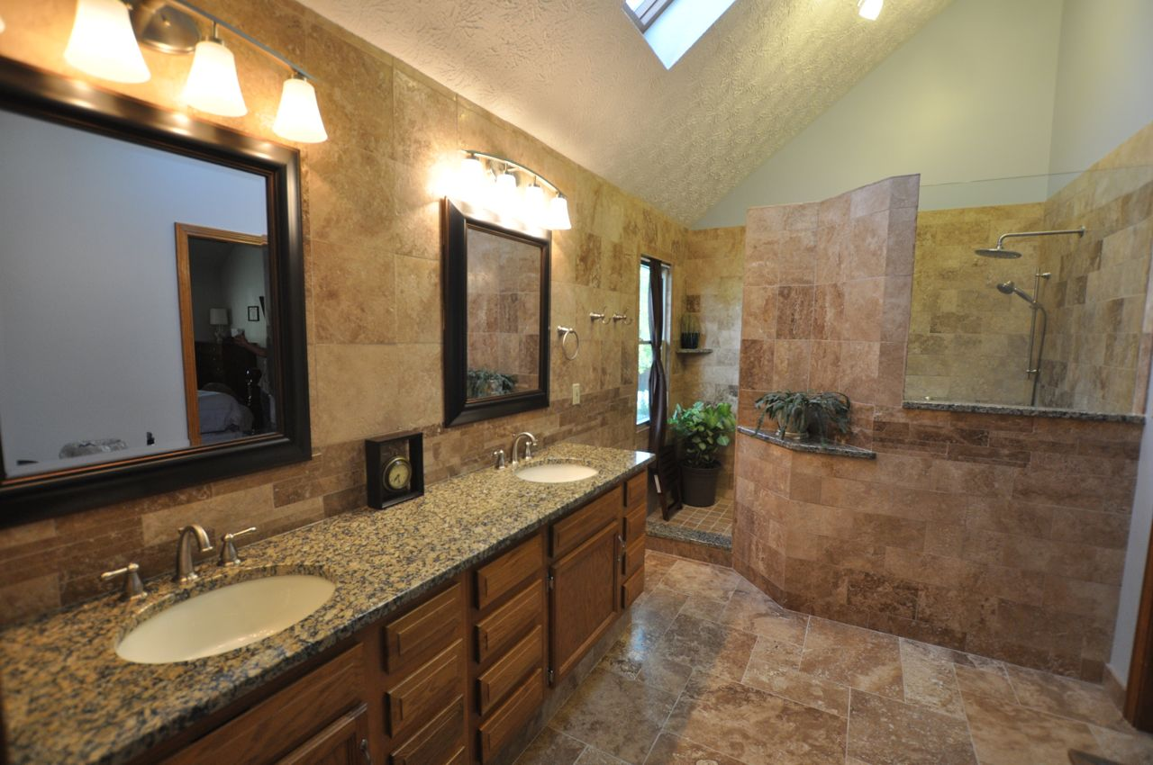 Custom tile work bathroom kitchen remodel in las vegas - Bathroom remodeling las vegas nv ...